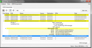 J1939 Interpretation
