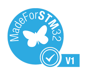 MadeForSTM32 Logo